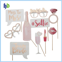 New Funny Lipstick Glasses Bachelorette Party Team Bride To Be Photo Booth Props For Wedding Supply