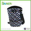 Portable picnic insulated hot wine cooler bag with handle