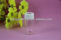 6ml amber small glass vial with Teflon cap