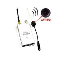 CCTV Security Surveillance + Receiver Mini IR Wireless Camera