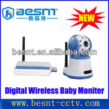 BESNT Newly Wireless High Definition baby monitor IR CCTV Camera BS-W239