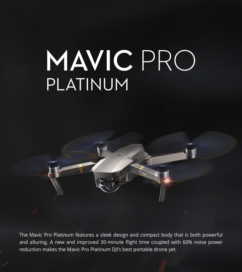 In stock! DJI Mavic Pro PLATINUM Fly more combo Drone 7KM Long Distance With 4K HD Camera Folding FPV Drone VS Mavic Pro GPS dji.jpg