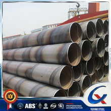 SSAW spiral welded wound steel penstock pipe