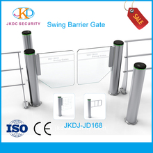 Flap Barrier High Speed Barcode Ticket Supermarket Pedestrian Security Swing Barrier Gate