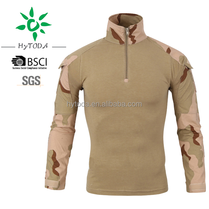 Camo Sand Polo for long sleeve outdoor shirt