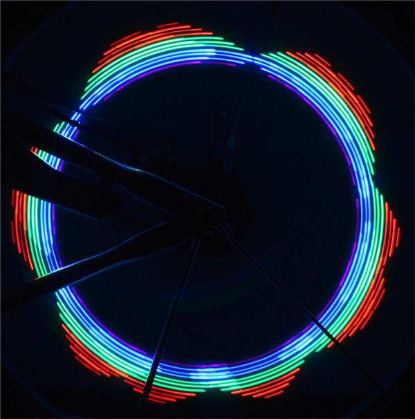 Safety Bright Cycling Wheel Tire LED Spoke Light Lamp Bike bicycle light bicycle spoke lights review