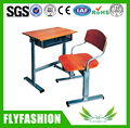 SF-05S Classroom Single School Desks And Chairs Set Height Adjustable Cheap School Furniture MDF and Plywood Table