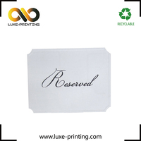 Gold foil stamping white kraft paper luxury quality popular price Thanks giving card