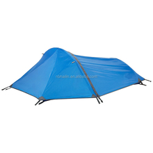 Portable one person lightweight mountain tent