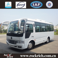 6.6M 23 seats Chinese minibus price for sale