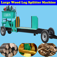 Cheap Price Industrial Diesel Engine Mobile Log Splitter Wood Cutter Machine