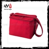 Embroidered cooler lunch bags, non woven wine cooler bag, nonwoven 6 can cooler bag