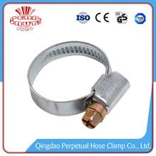 China metal german galvanized of screw band hose clamps