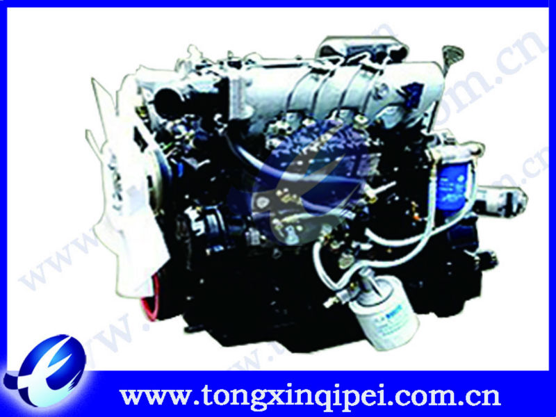 light truck diesel engine with gearbox