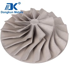 customized alloy aluminum impeller by draws