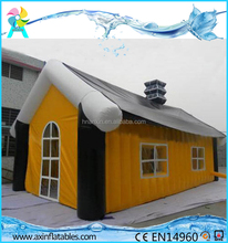 Outdoor large PVC inflatable cabin house tent for party