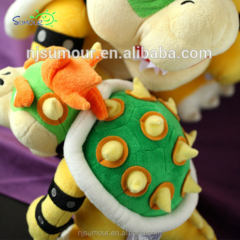 japan super mario plush princess peach tortoise stuffed ire dragon kubah game toy