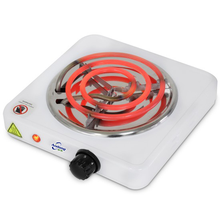 Portable single burner hot plate electric stove for charcoal starter