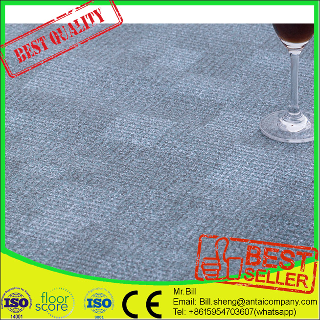 High Quality 3d Lowe Linoleum Floor Green Luxury Vinyl Tiles