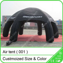 CE air blown up camping inflatable tent10x10x5m ,inflatable dome tent,Inflatable party tent