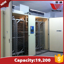 High capacity large 19200 eggs single-stage chicken hatchery incubator machine price