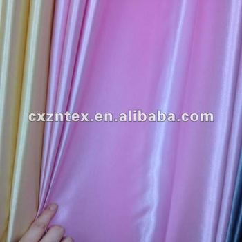 Purple shiny satin curtain fabric
