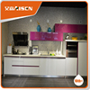 Hangzhou fatory low price wholesale modern kitchen cabinets(MDF,MFC,flat pack)