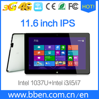 Intel core i5 win tablet 11.6 inch 32 gb ssd win tablet pc