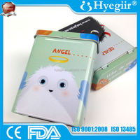 Unusual designed 100% latex-free water-proofing angle and devil image printed PE adhesive bandage of 70*18mm (CE and FDA)