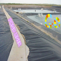 HDPE Impermeable Geomembrane For Black Industrial Pond Liner