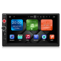 7'' 2din android6.0.1 quad-core universal car GPS with 2G RAM+16G flash,built-in WiFi &3G DY7098