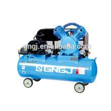 Truck tyre belt driven silent portable air compressor with valves