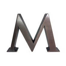 Customized decorative outdoor metal alphabet letters
