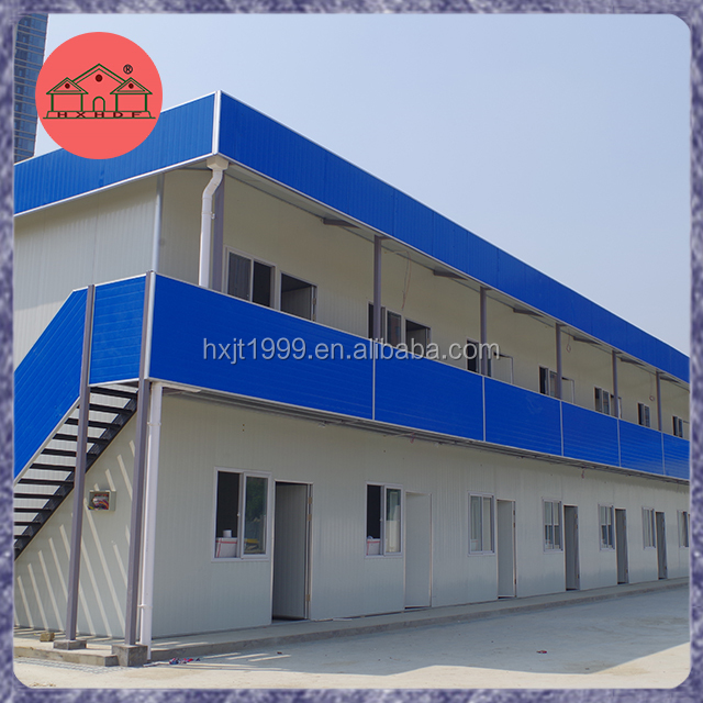 Low cost light steel prefabricated camp houses in Doha