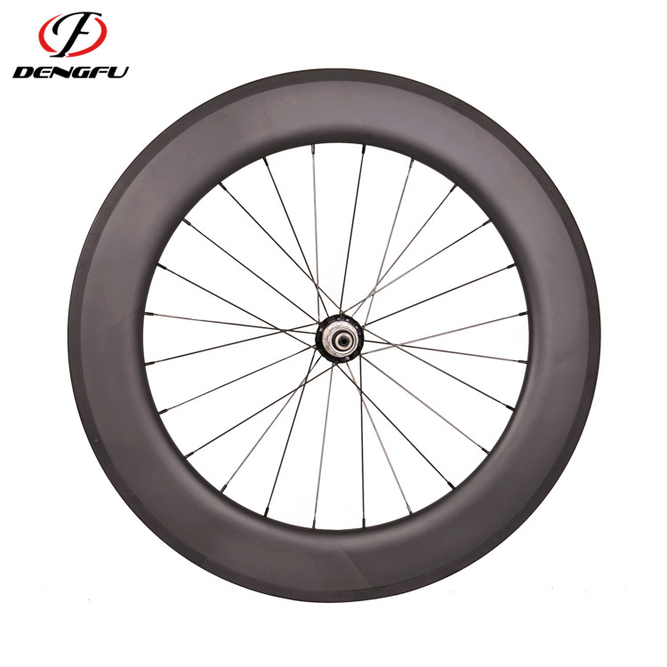 Carbon wheelset deng fu 27/88 popular and cheap 700c wheelset with UD finish