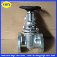 brass seat cast iron flanged gate valve
