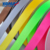 Gift decorative colorful 25 mm polyester satin ribbon