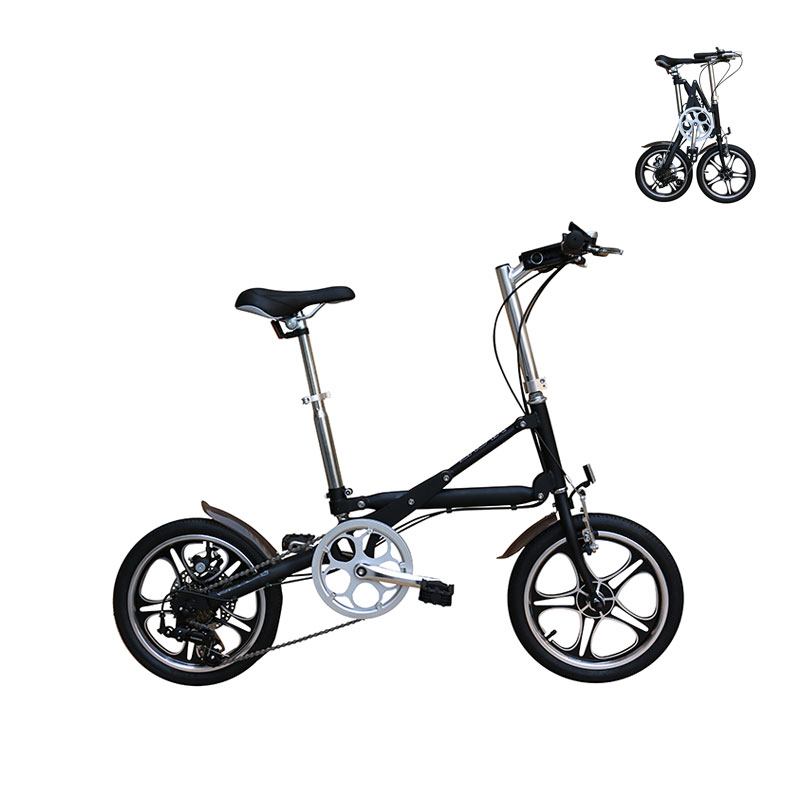 16 Inch aluminum alloy 7 speed adult mini <strong>folding</strong> bike wholesale