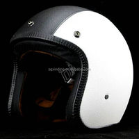 2016 New Design ABS FRP Shell Motorcycle Open Face Helmet With DOT Approved