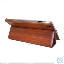 New arrival high quality wood wooden hard back cover case for Apple ipad 2 /3 /4