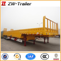 2014CHINA FACTORY COMPETITIVE PRICE NEW 4 AXLES LOW BED SEMI-TRAILER FOR SALE WITH STEP-WISE AND PARABOLIC LEAF SPRING