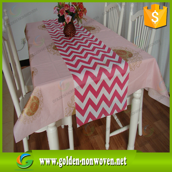Hot selling 50gsm non woven table cloth