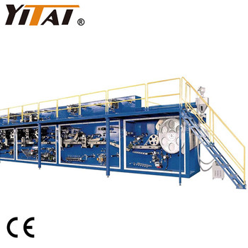 Fully Automatic Full Servo Baby Diaper Making Machine Price with High Quality & Good Service