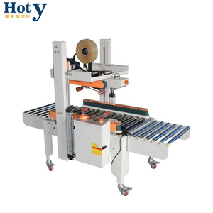 China Factory Made Best Selling Fully Automatic Folded Edge Carton Sealing Machine For Paper Box Sealer