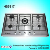 HS5817 hot sell stainless steel gas stove gas cooker restaurant equipment