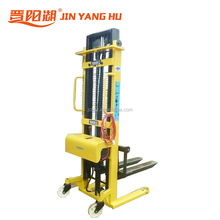 2Ton Electric Stacker batter forklift powered semi electric pallet stacker price