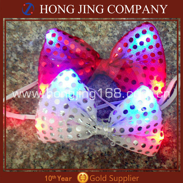 2014 Christmas Flashing Bow Tie
