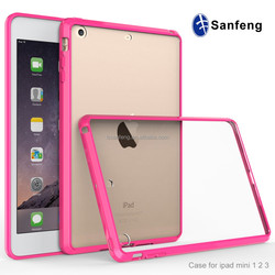 Hybrid Acrylic And TPU Case For Ipad mini/mini2/mini3