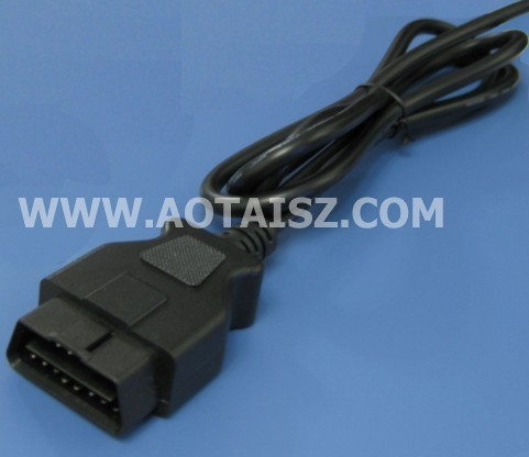 j1962 male connector OBD male to open cable