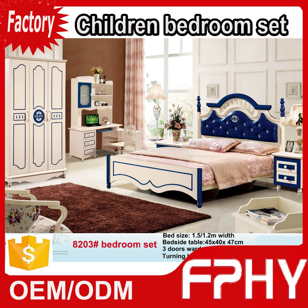 Factory supply FPHY 82# series korean-Style teen kids furniture prices color combinations for bedroom